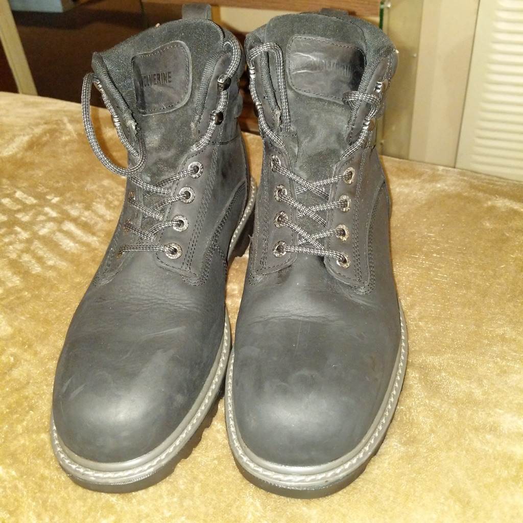 Wolverines steel toe boots