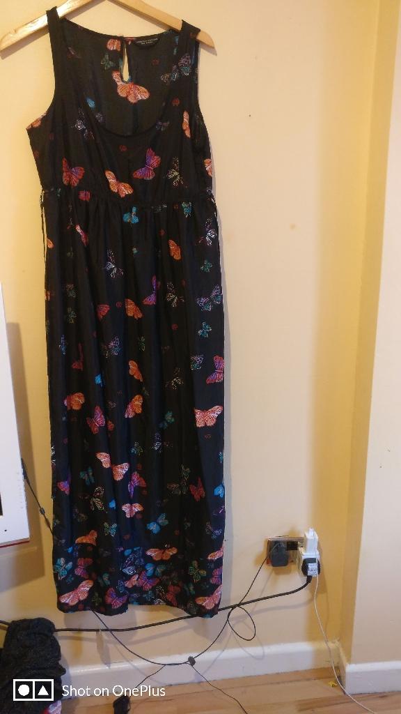 Long dress 10 uk size