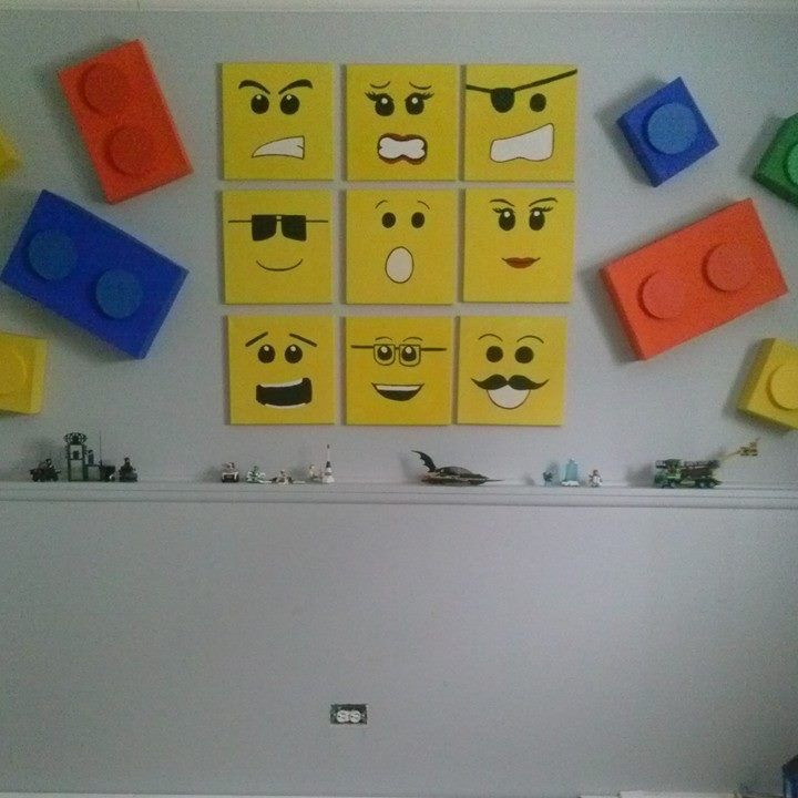 LEGO Wall decor