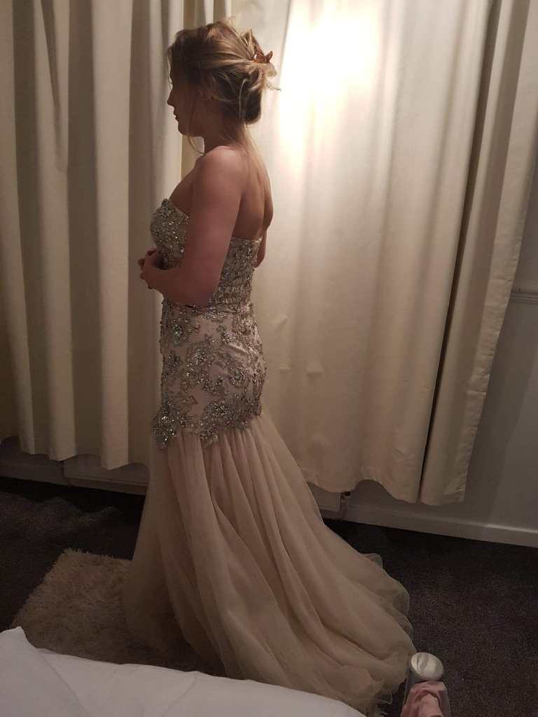 Designer Dress evening/wedding/prom