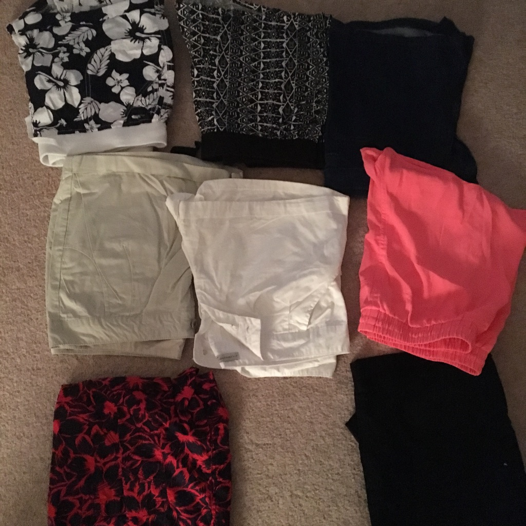 Shorts 8 pairs size 12