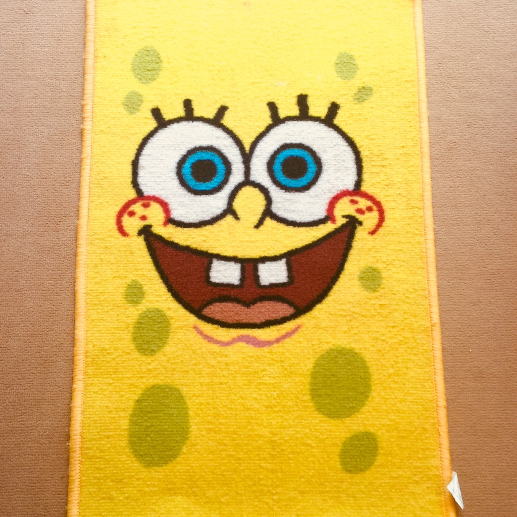 Spongebob squarepants rug