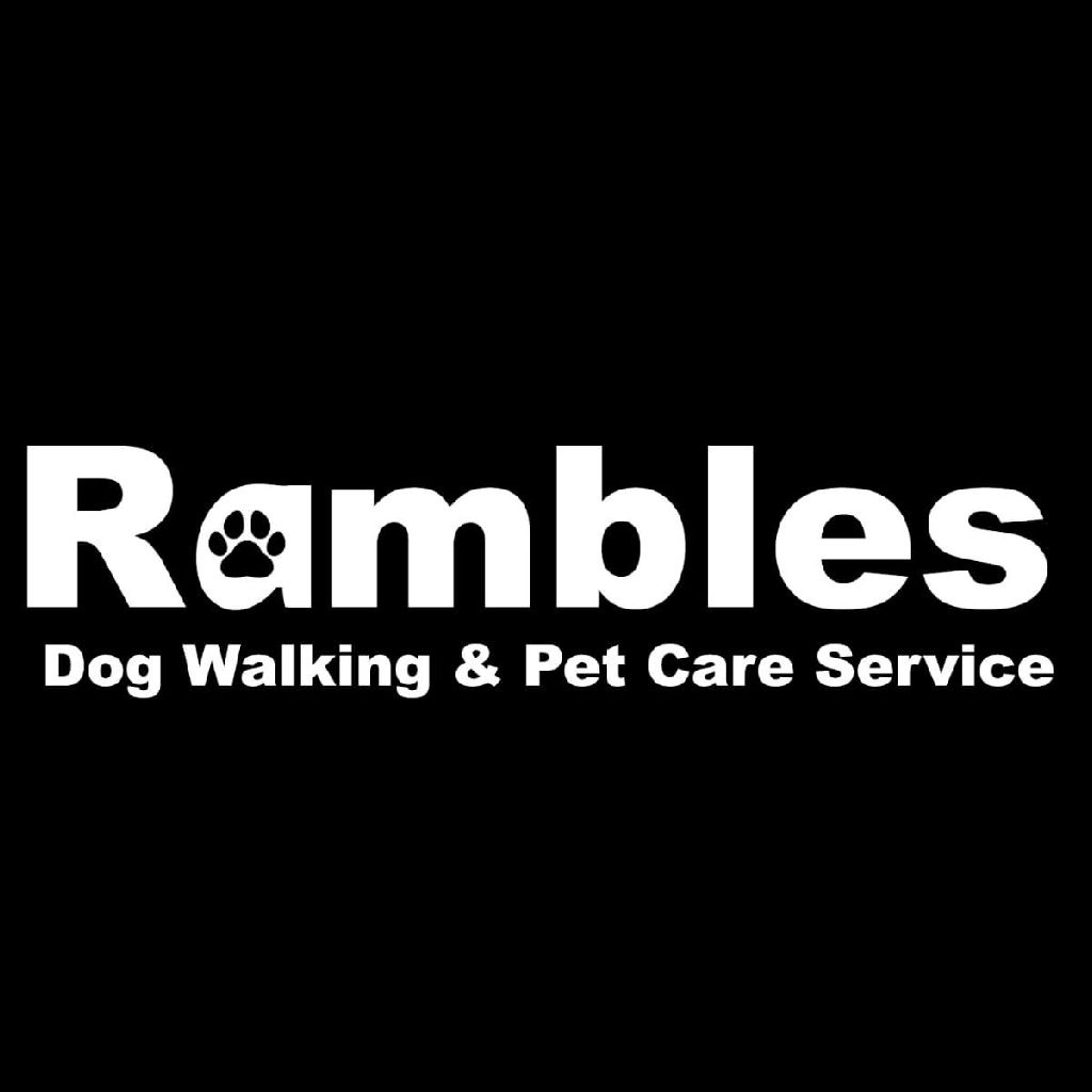 Rambles dog walking and pet care services