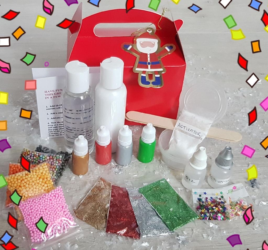 Slime Kit Stocking Filler or Christmas Eve gift