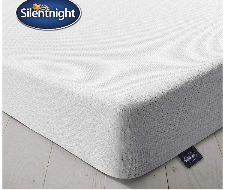 Silentnight Comfort Foam Rolled Mattress | Made in the UK | Medium Soft | Euro Double