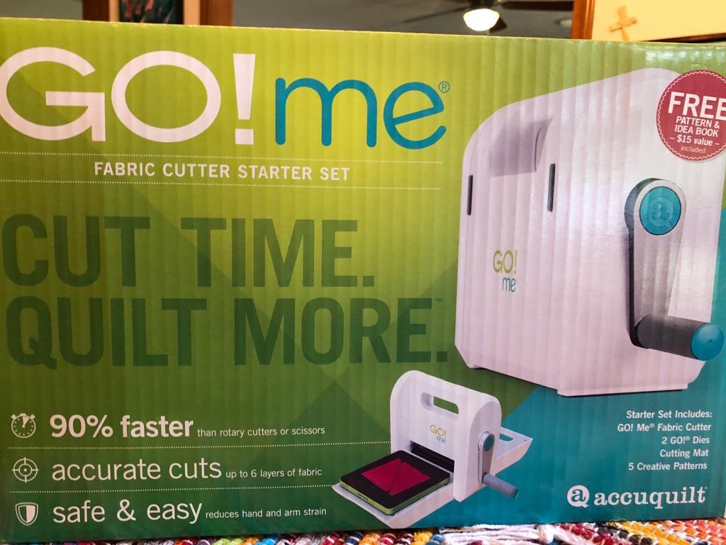 AccuQuilt Go! MeFabric cutter starter set