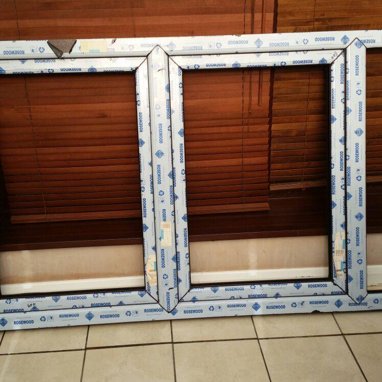 Double glazed window frame