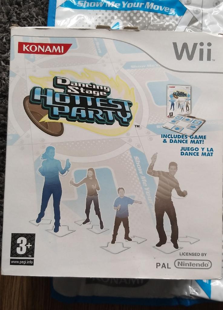Wii dance mat game