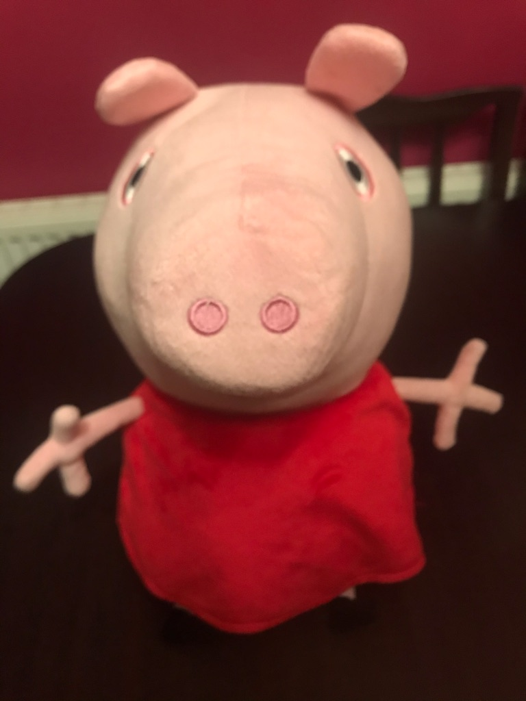 Fantastic Children's 18inch Talking Peppa Pig Soft Toy