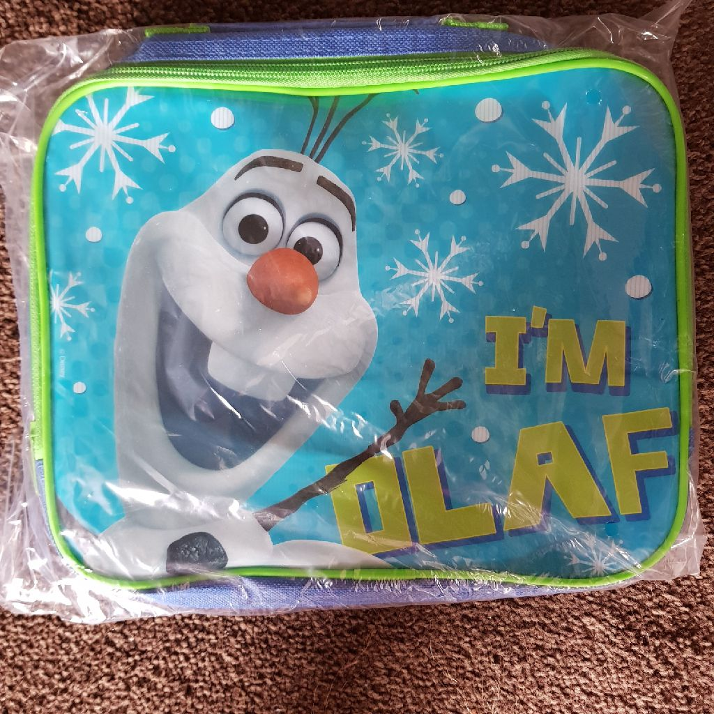 Brand new disney frozen olaf lunch bag