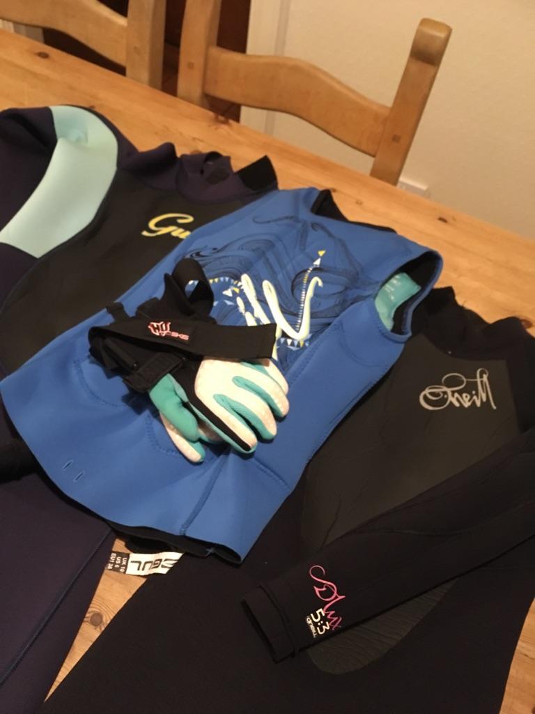 Bundle of ladies water sports equipment