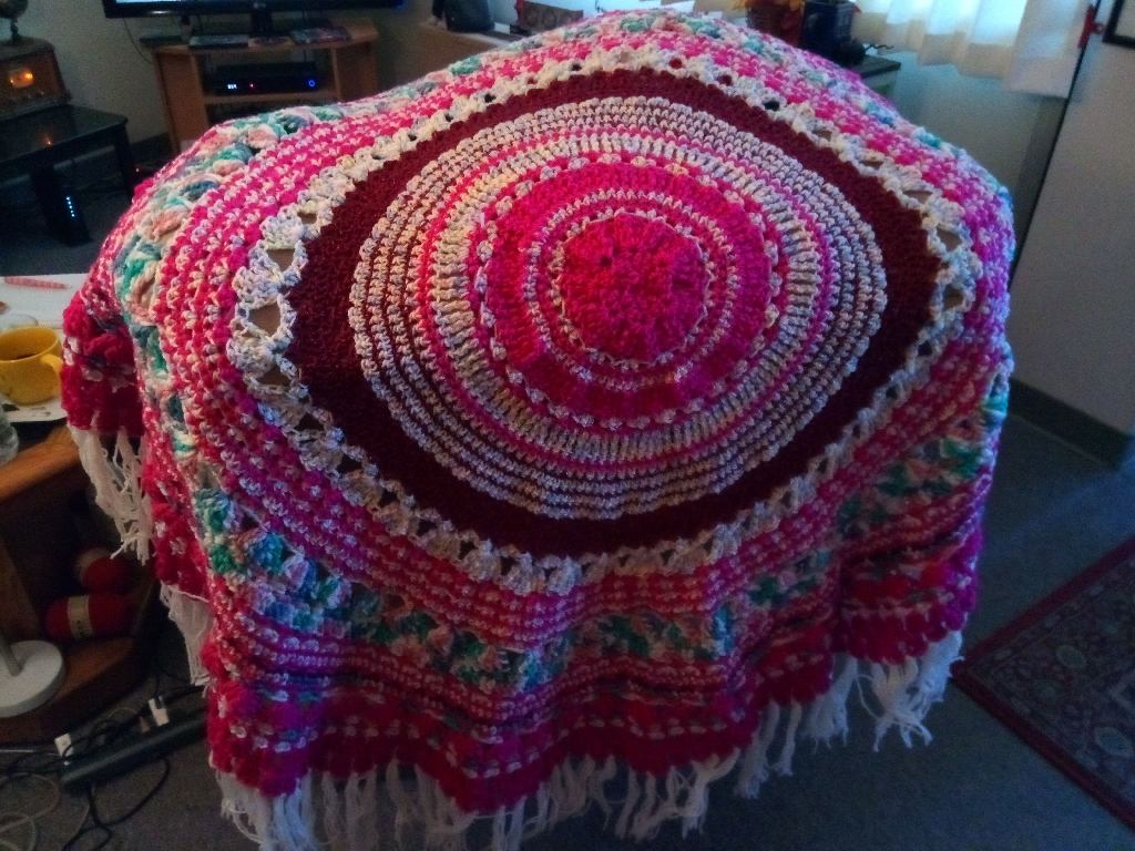 Gorgeous handcrafted crocheted blankets