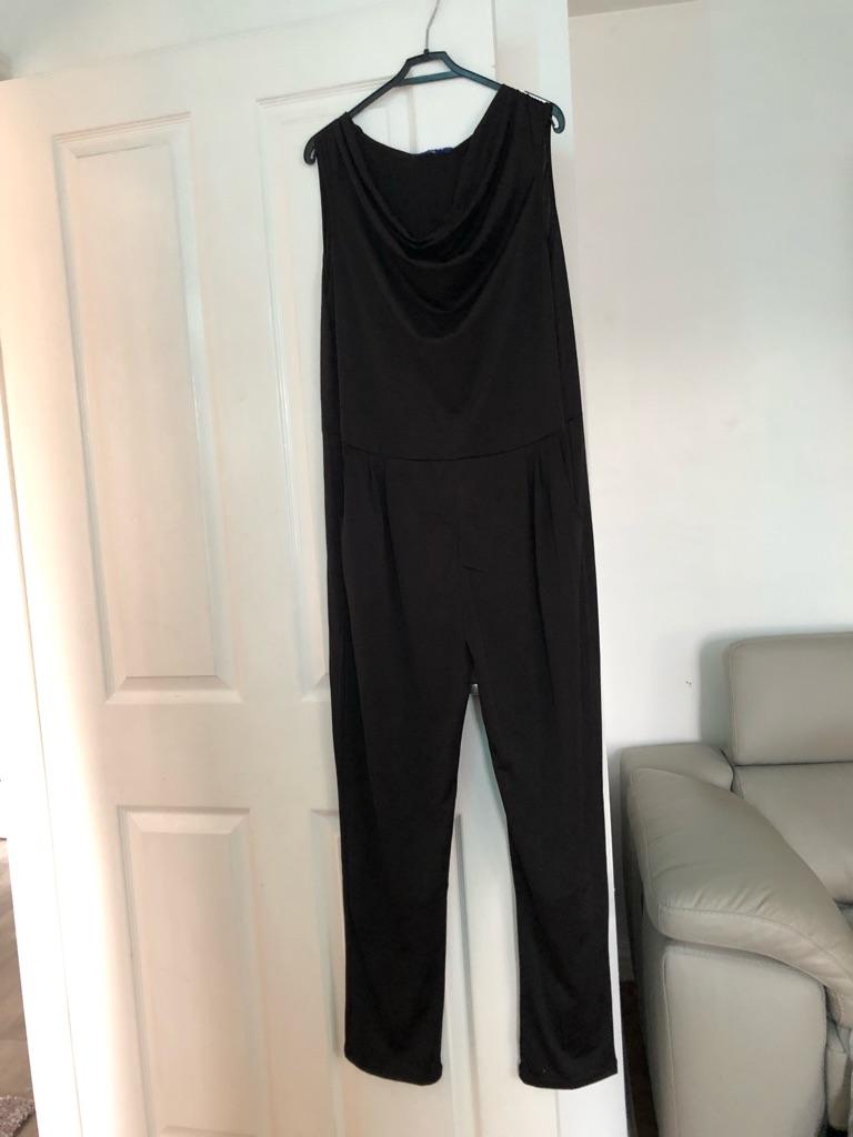 Women's Black jumpsuit by G-boy size XL/XXL