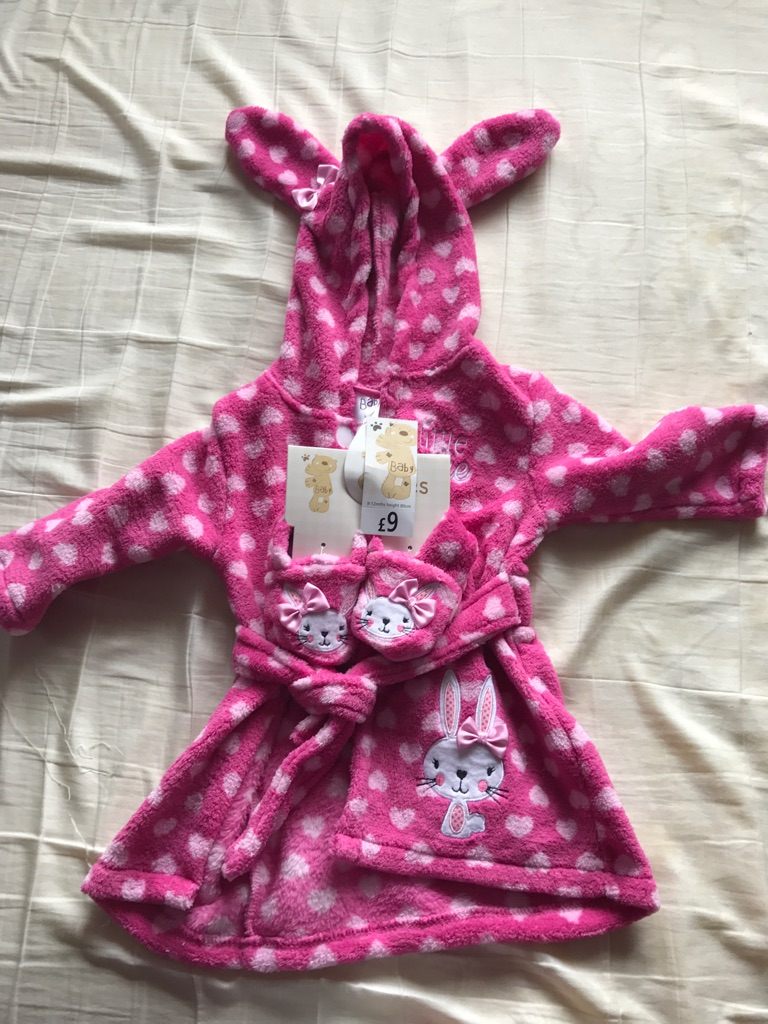 9-12month dressing gown