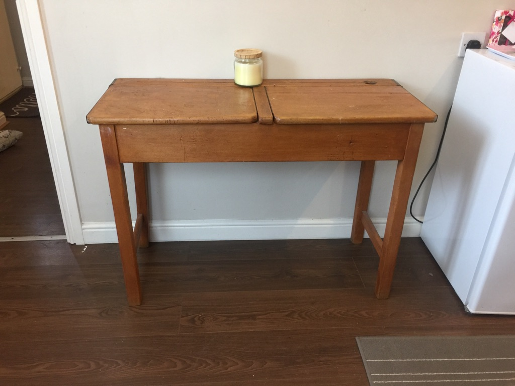 Old Fashioned School Desk