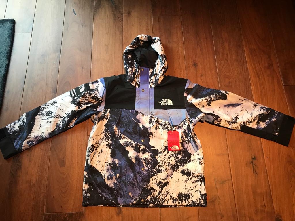Supreme x North Face Mountain parka jacket