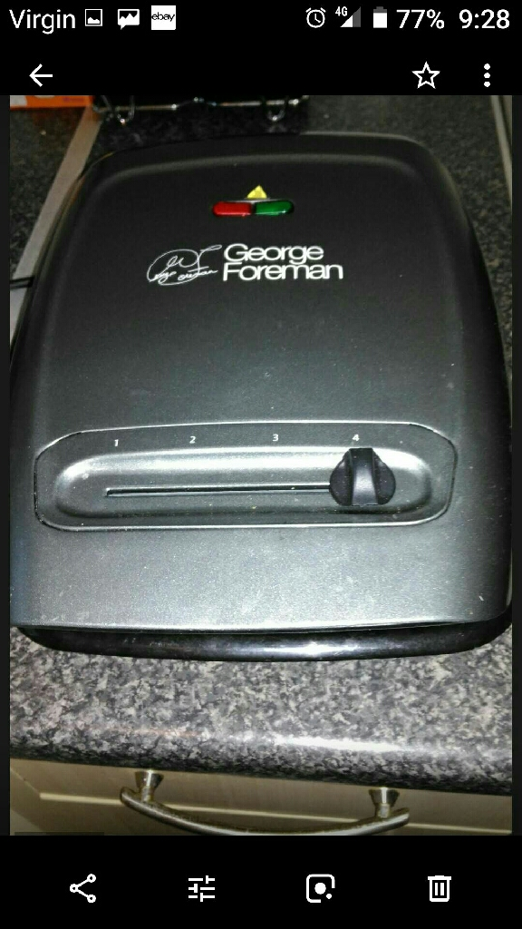 George foreman grill and slow cooker