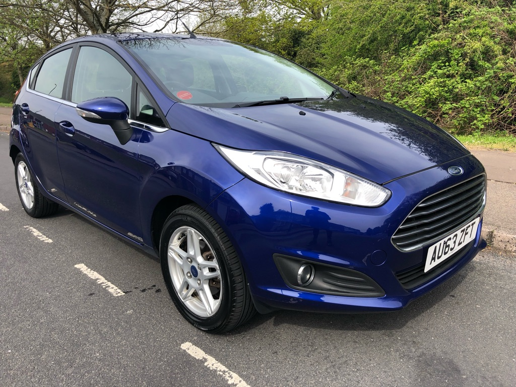 2013 Ford Fiesta 1.6 automatic