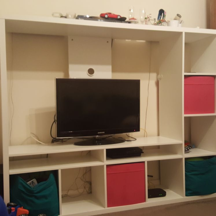 Tv With Unit Ikea Village
