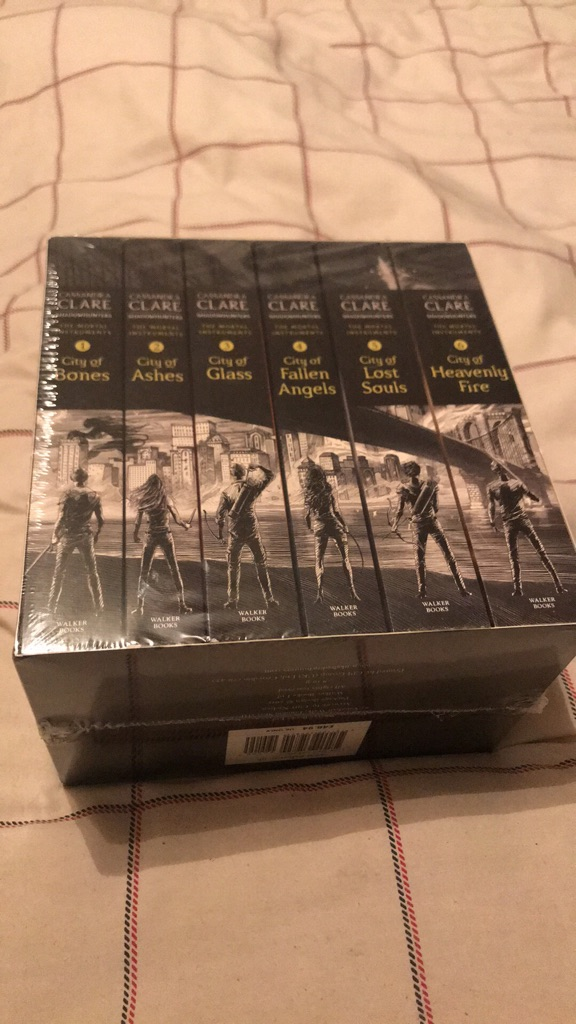 The Mortal Instruments Book Collection plus Slip Cover
