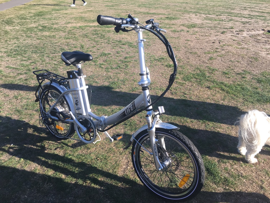 Battery powered bicycle