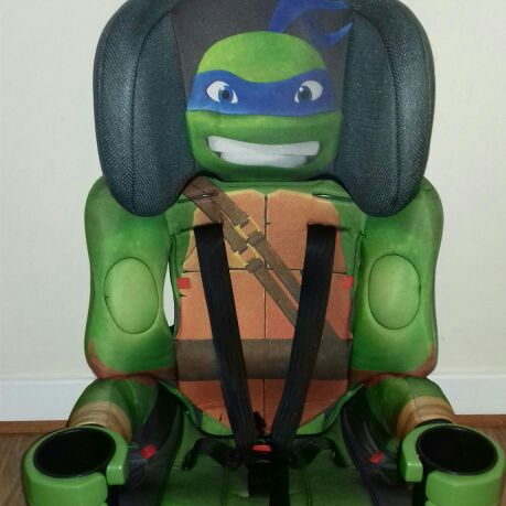 Ninja Turtle car seat group 1-2-3
