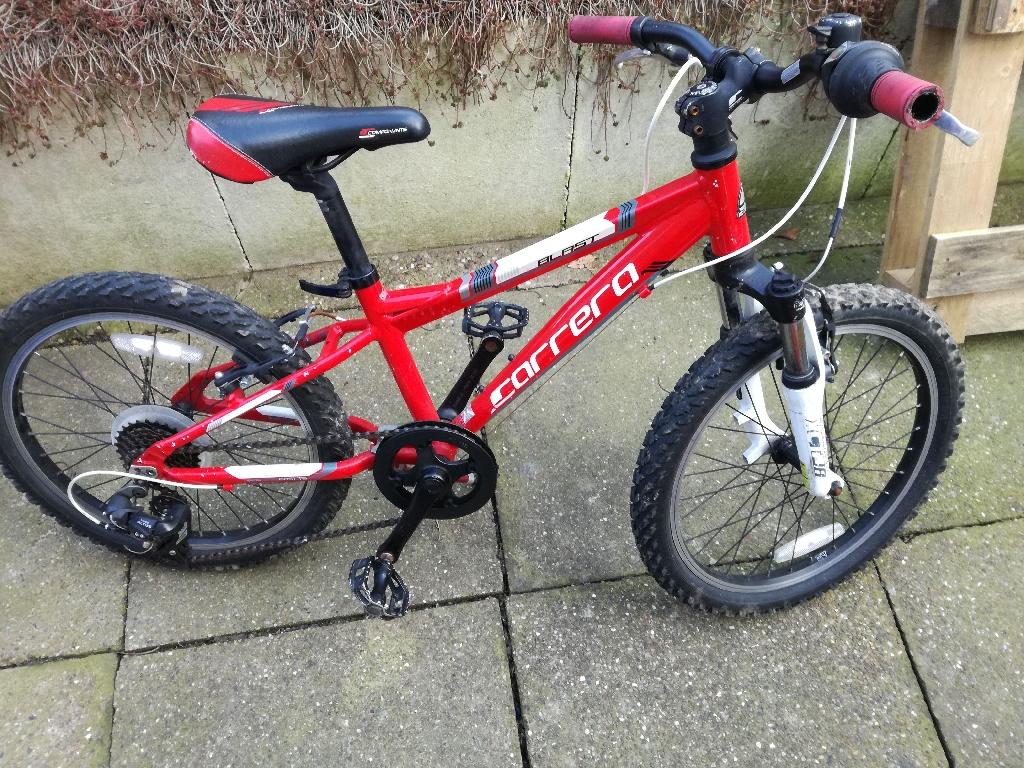 "Carerra blast kids mountain bike 20"""