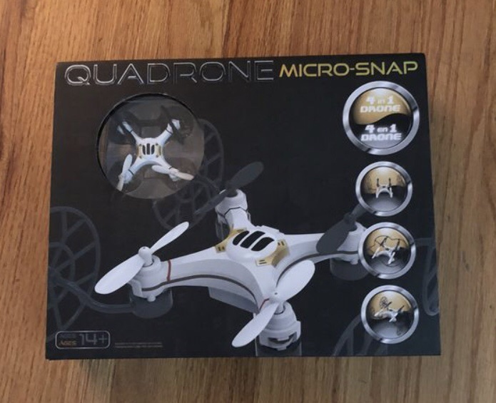 Quadrone Micro-Snap 4-in-1 Drone
