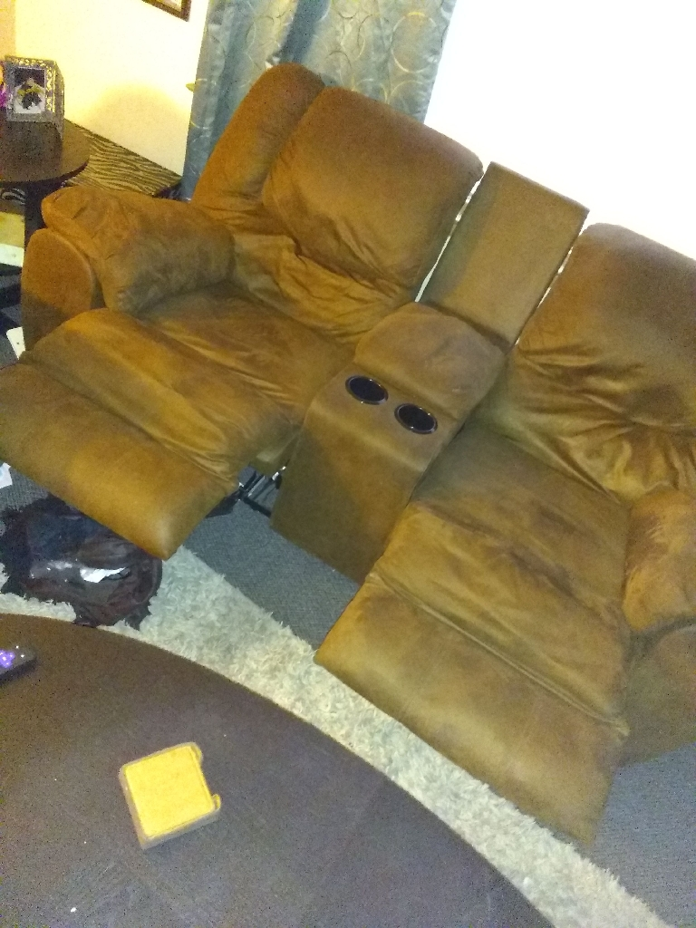 Single chair recliner/loveseat recliner