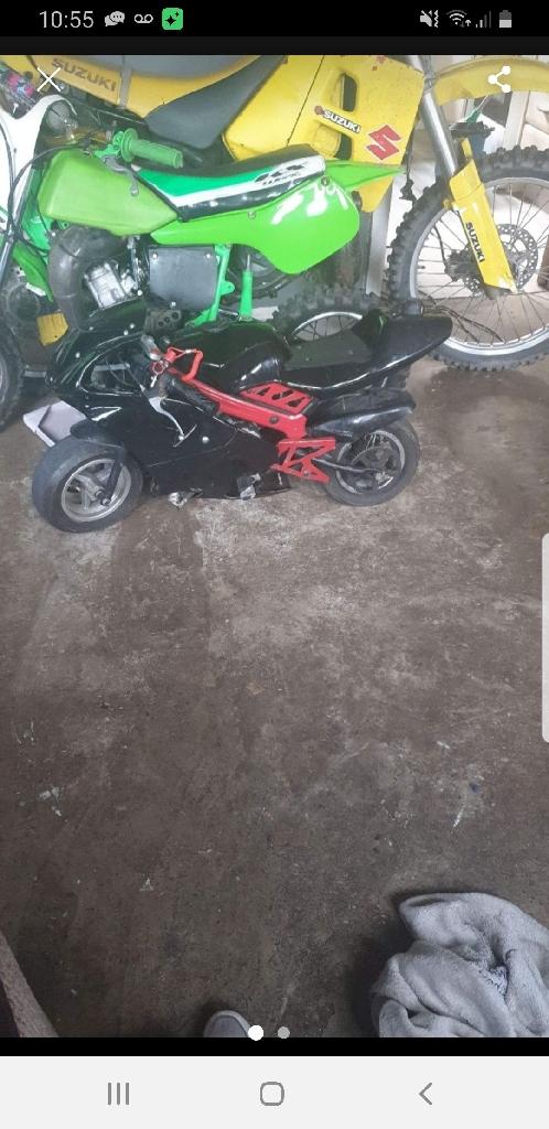 Blata b1 race mini moto