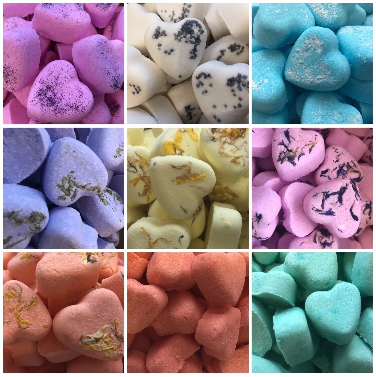 Mix Gift box of bath heart
