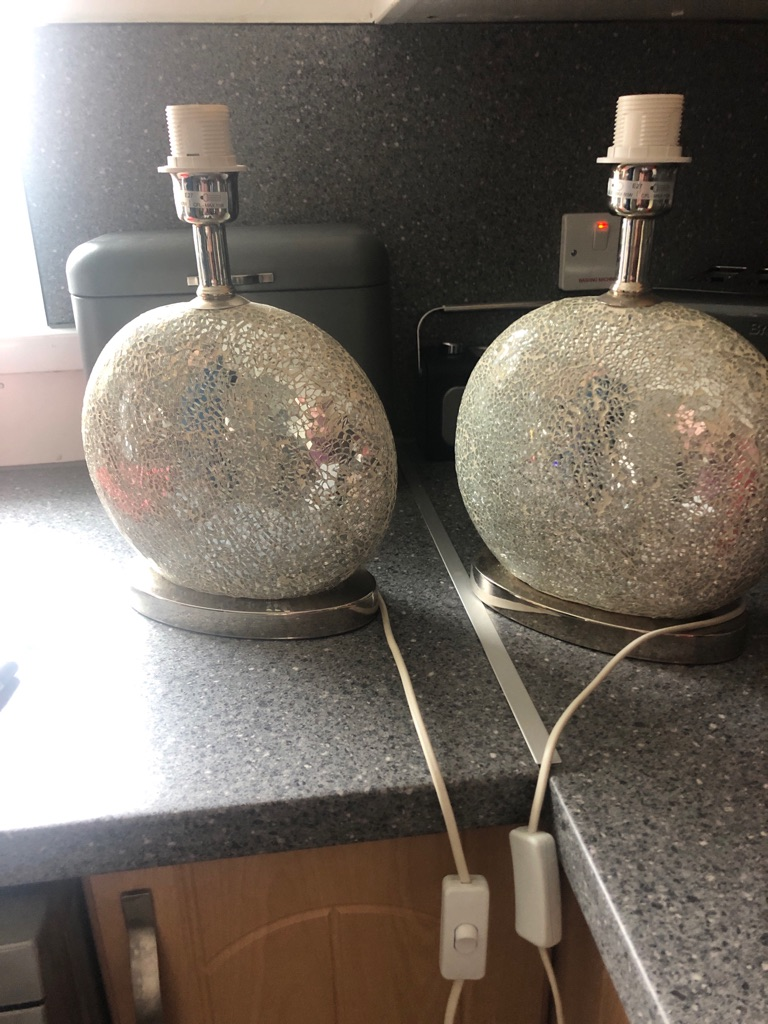 Lamp base only 2x