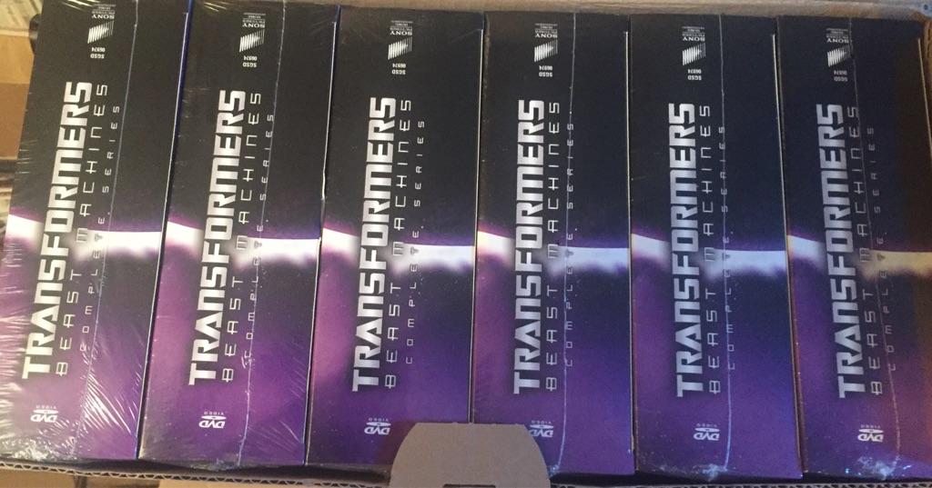 X50 transformers beast machine Dvd boxset
