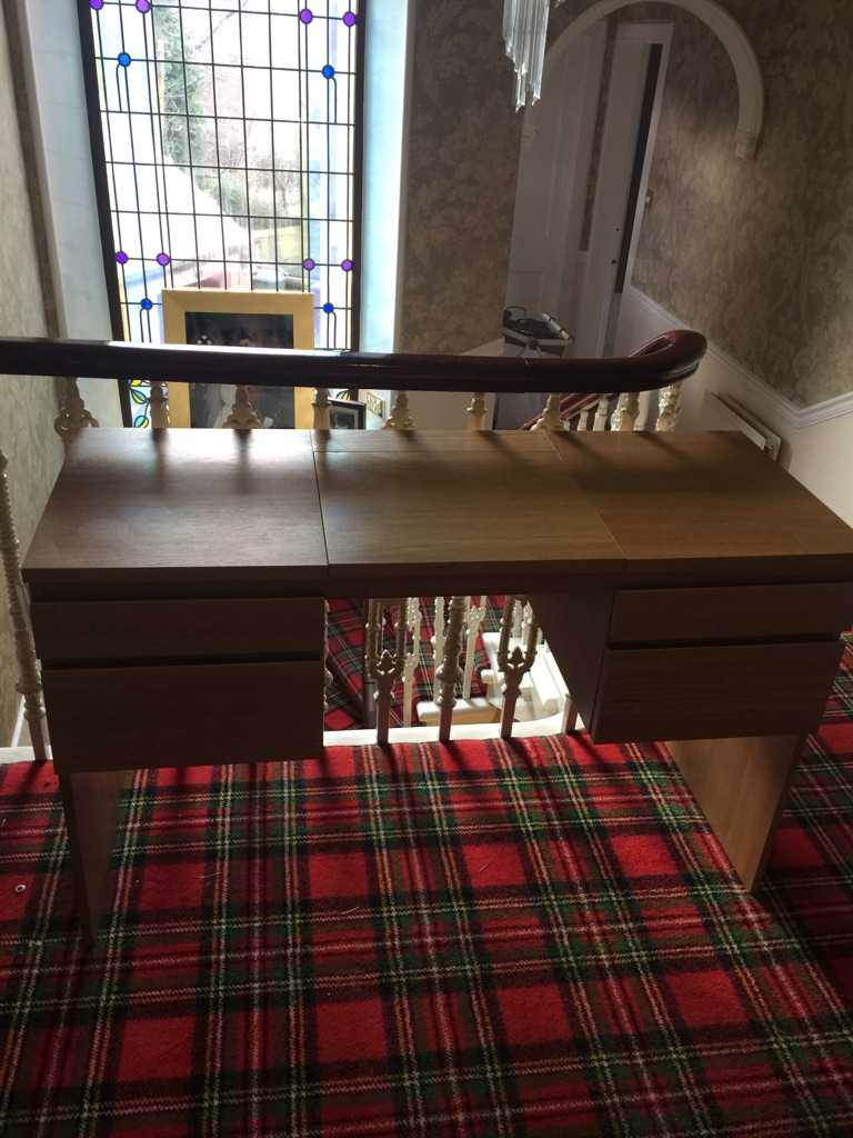 Dressing Table and Desk Combined