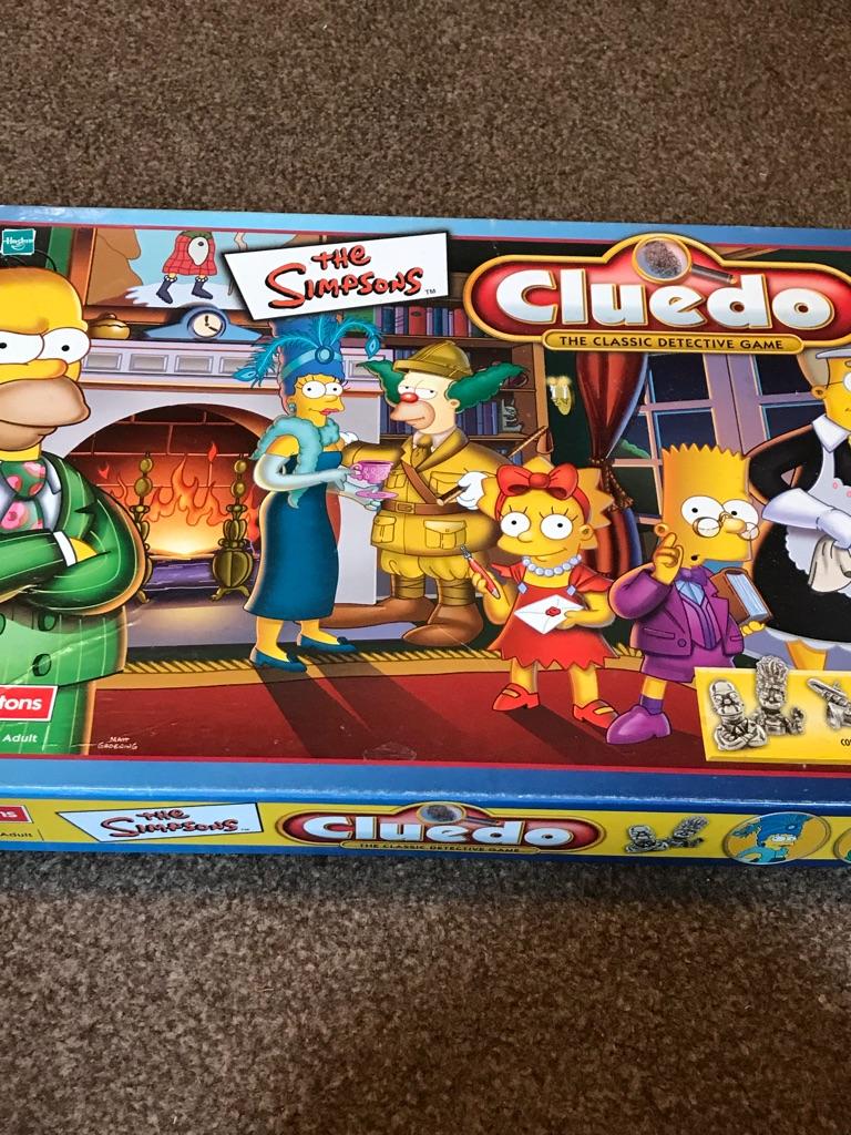 Simpson's Cluedo