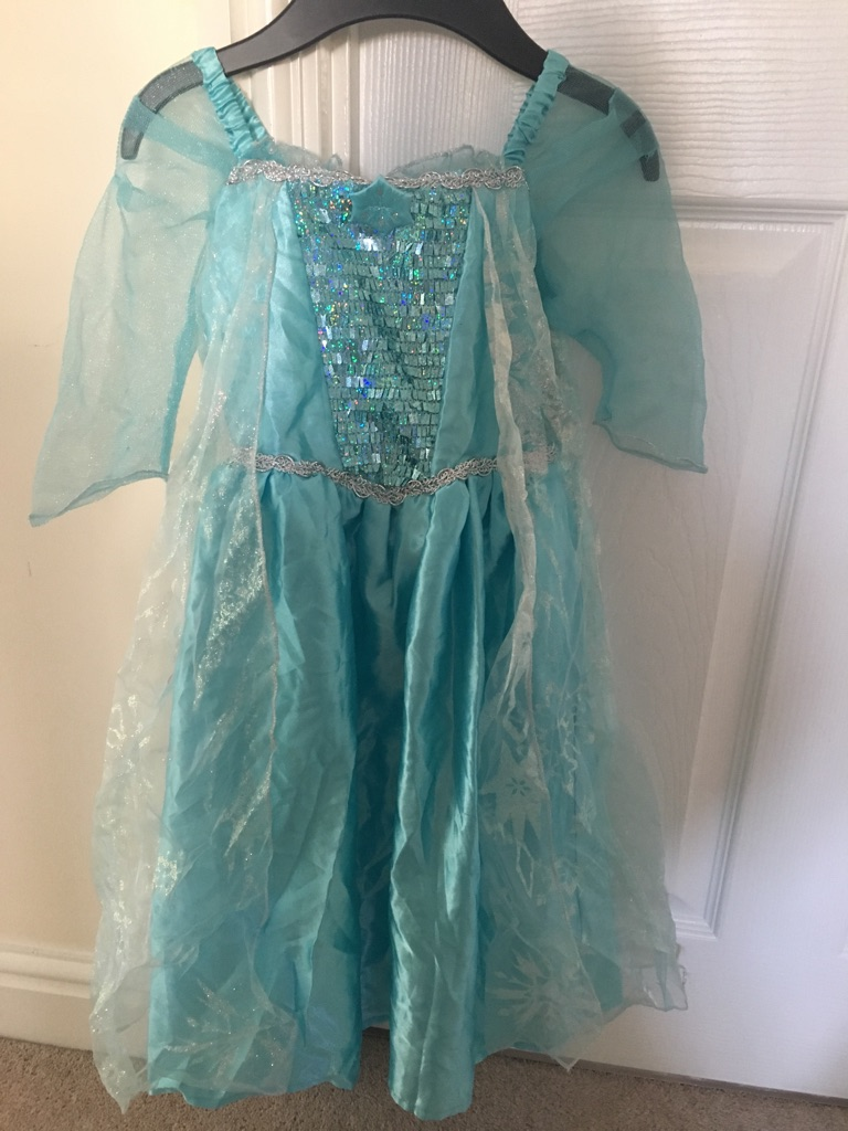 Frozen dress up girls 3-4 years old