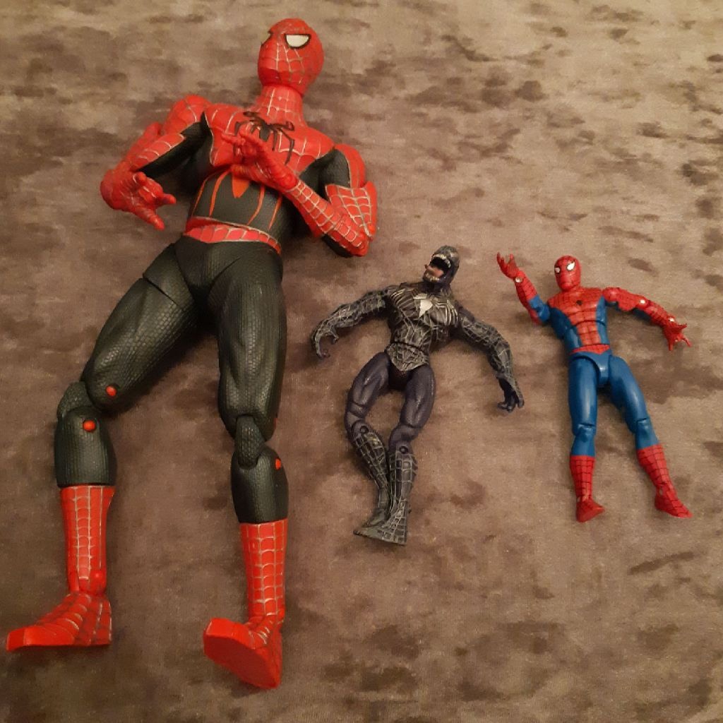 Spider man figures