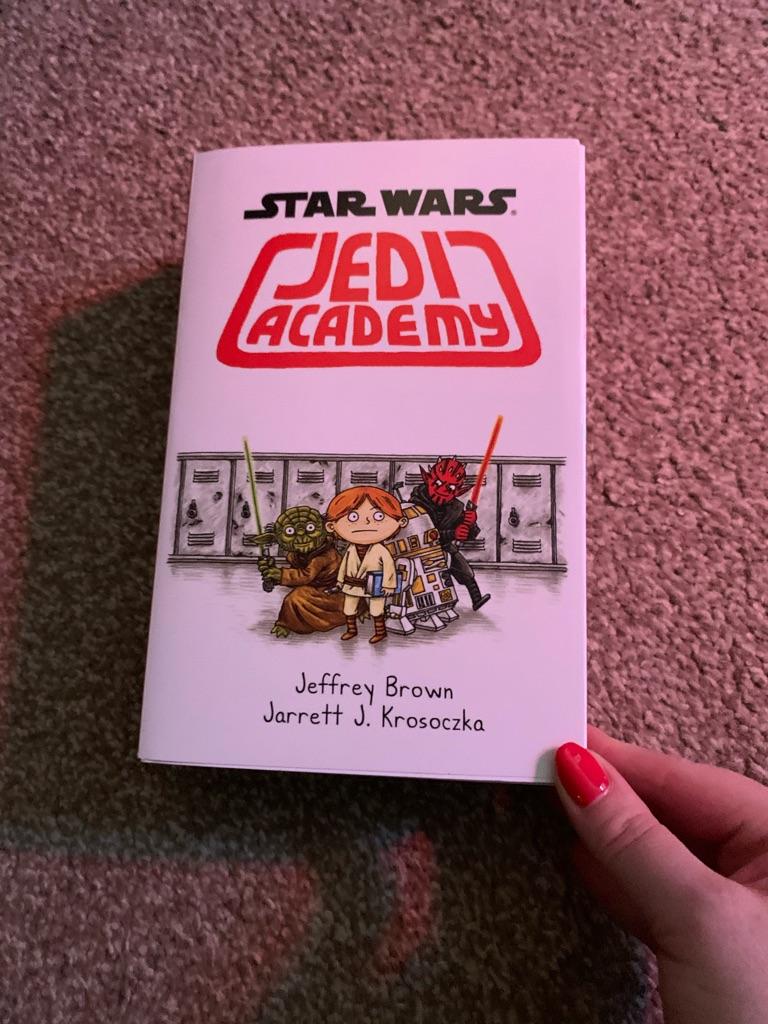 Star Wars Jedi Academy Book Set