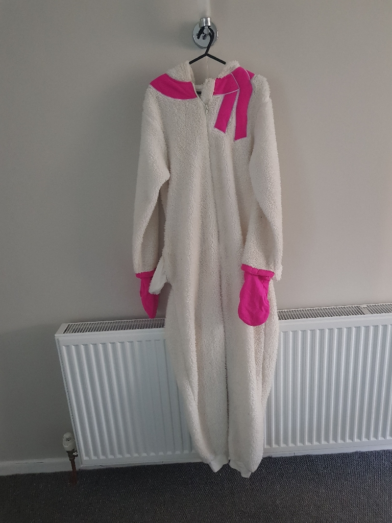 womens/girls sheep onesie