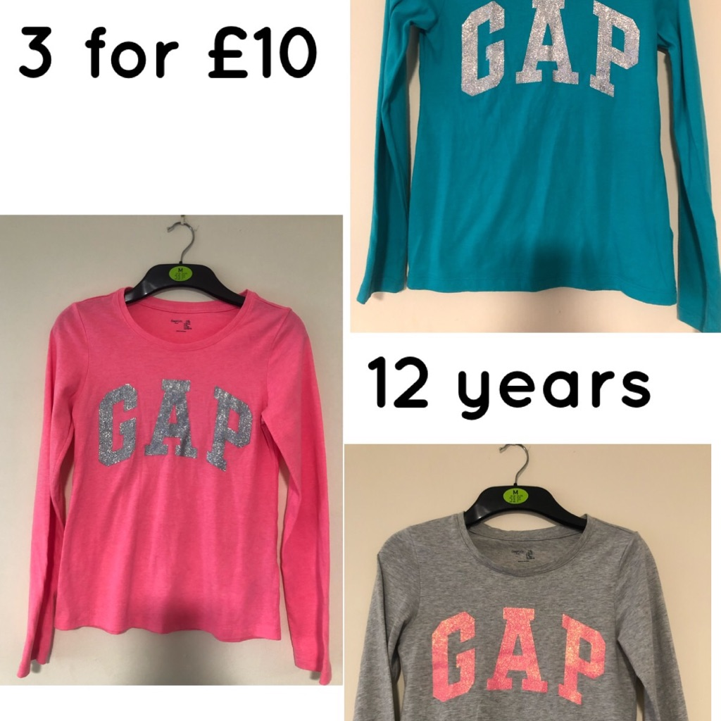 Gap long sleeve tops