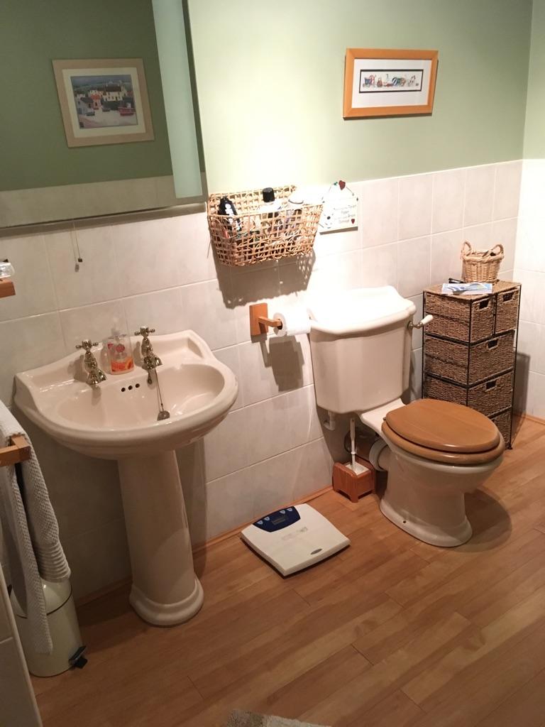 Cream cottage bathroom suite by Doulton