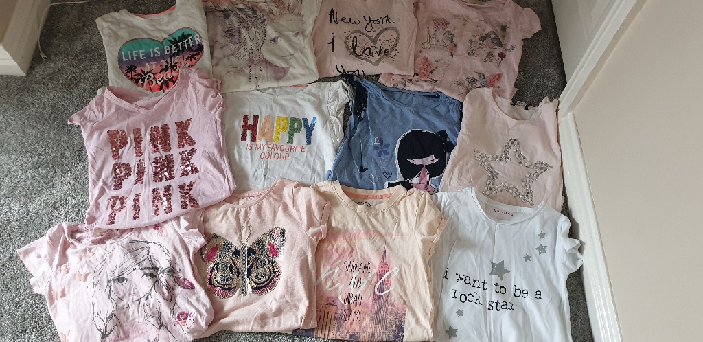 Girls Top bundle mostly from NEXT
