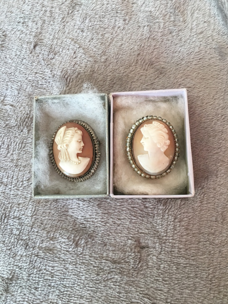 2 x Vintage Cameos £30 both for £50