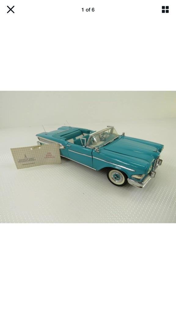 Franklin mint 1958 Ford Edsel