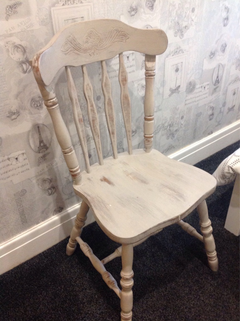 Old farmhouse style chair