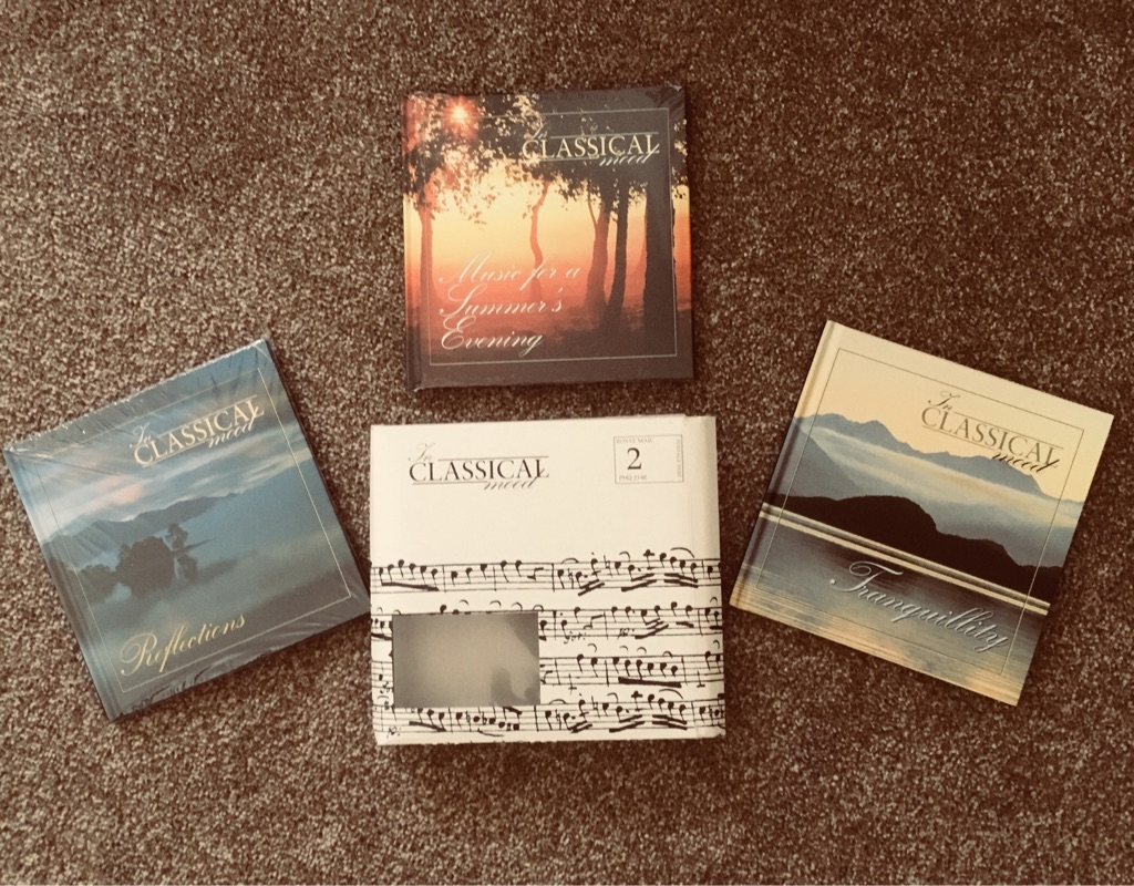 MUSIC CDs - 'IN CLASSICAL MOOD'