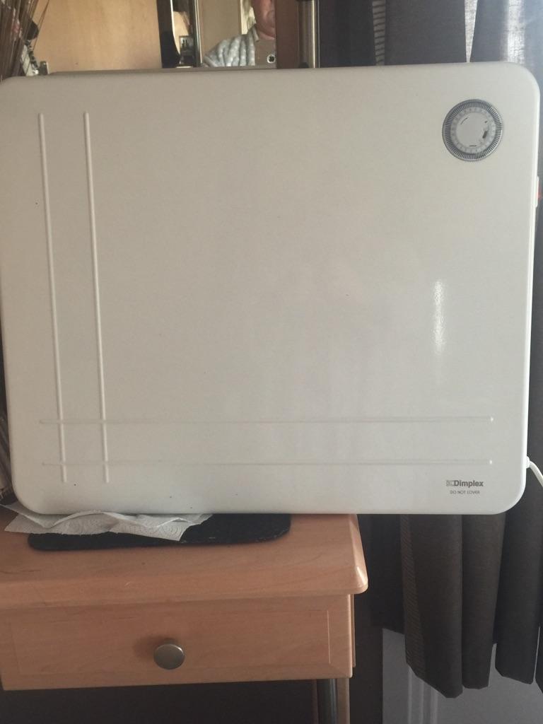 Slimline electric wall heater