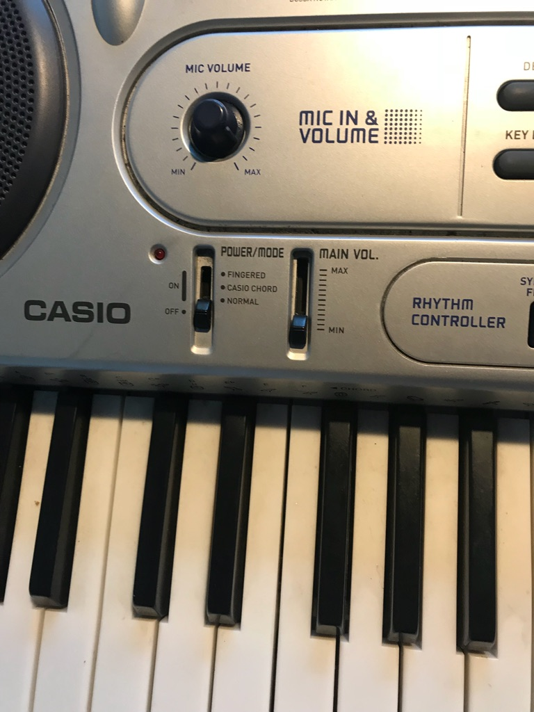 Casio key lighting keyboard LK-45