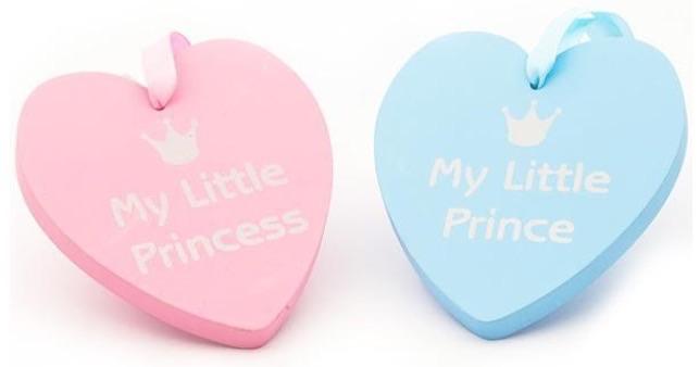 "Chunky ""prince/princess"" plaque"