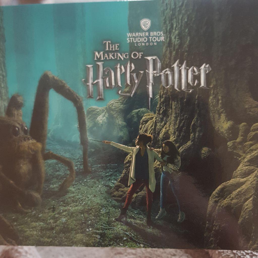 2 harry potter studio tickets